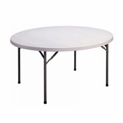 5 ft plastic round table